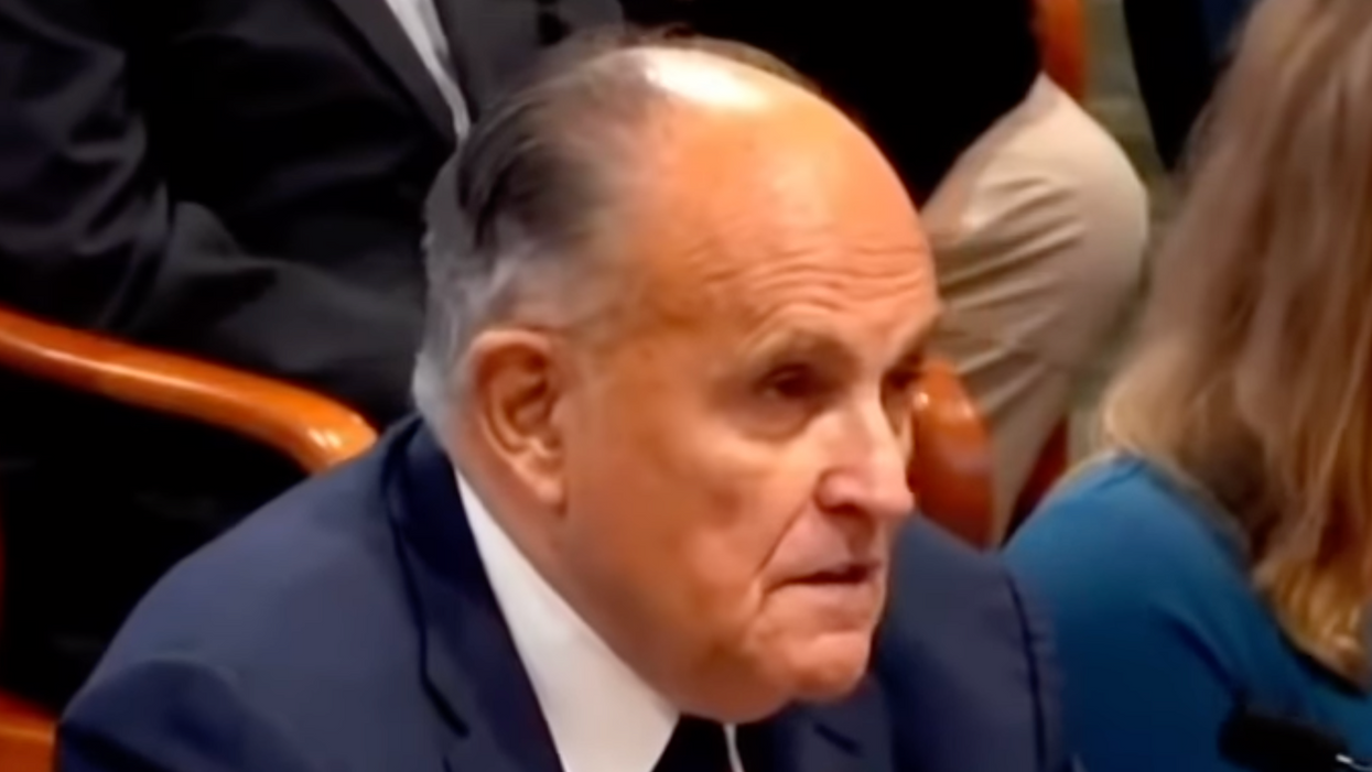 Trump's lawyer Rudy Giuliani has been reduced to selling cigars and coins on YouTube