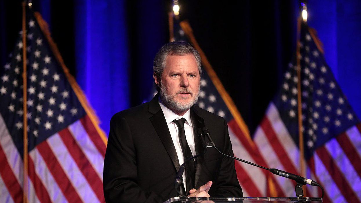 Here's how a Trump executive order encouraged Jerry Falwell Jr's political activities: report