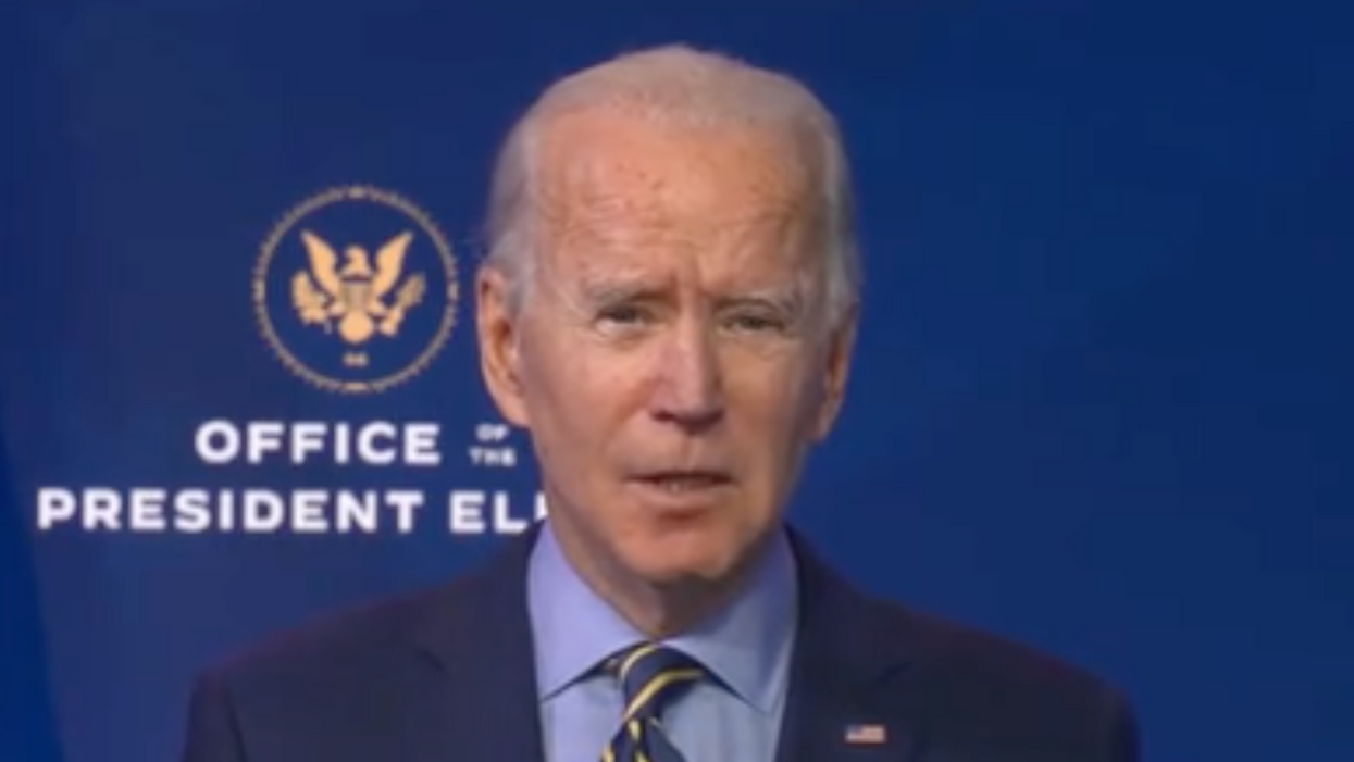 Biden warns the Trump administration is endangering national security in the transition period