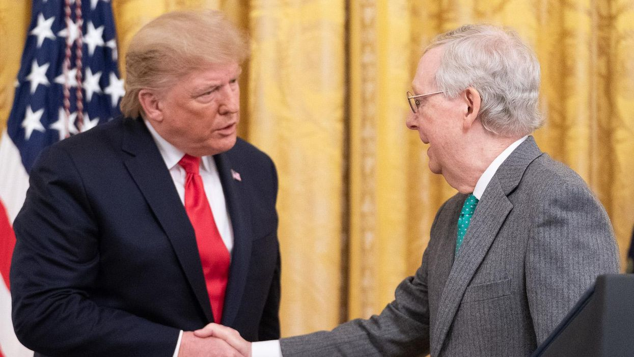 Here's the reality behind the brewing battle between Trump and McConnell
