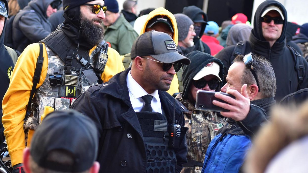 Leader of Proud Boys arrested ahead of pro-Trump protest in DC: report
