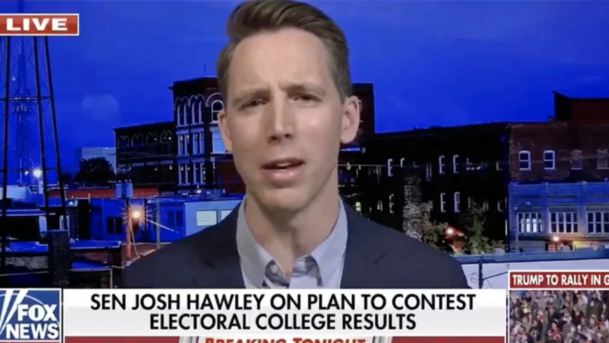 Watch: Sen. Hawley squirms as Fox News host grills him on the holes in his plan to overturn the election