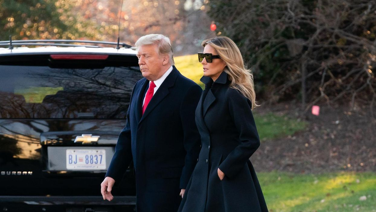 Criminal Trump pardoned personally thanked the president at holiday party in Florida