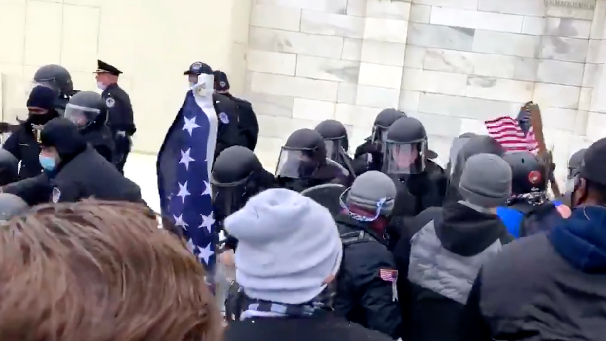 Chaos at the Capitol: Trump supporters launch assault as Congress counts votes