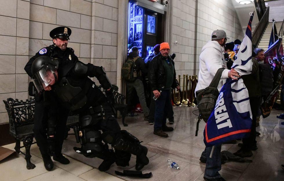 Police: 52 arrested in Capitol unrest, 14 officers injured