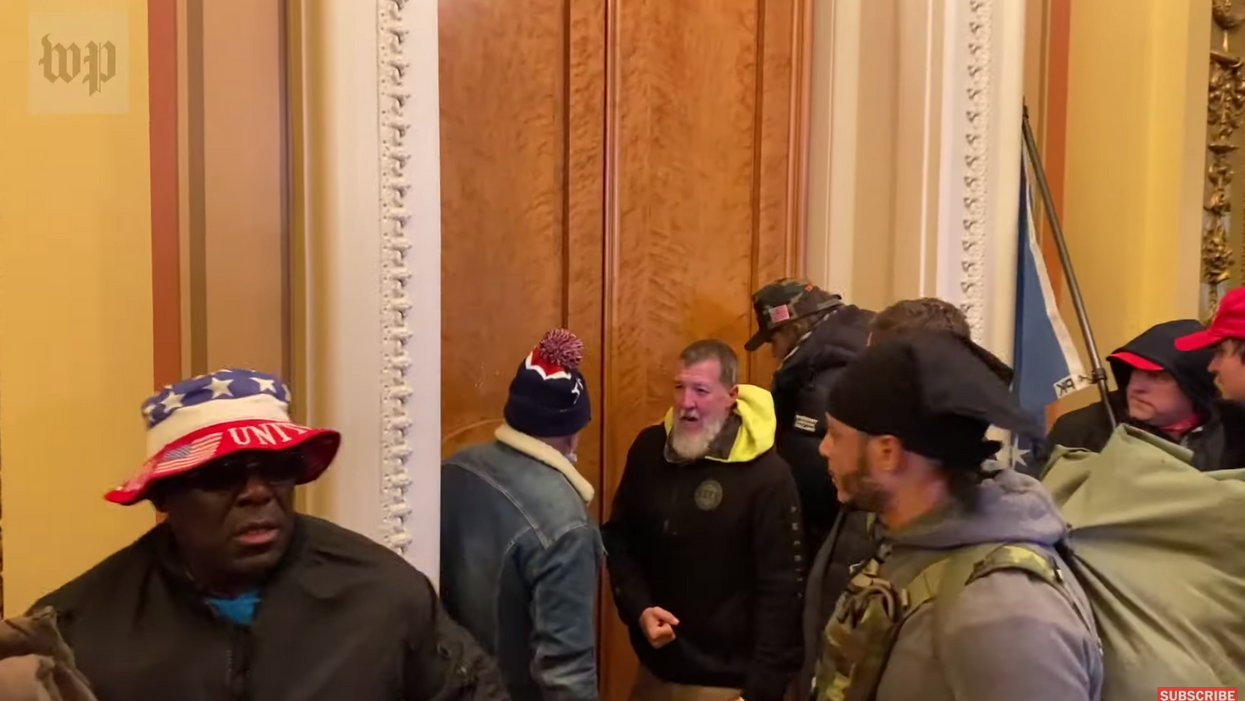 Historian saw 'country club Republicans' with evangelicals and 'well-dressed conservatives' at Capitol riot