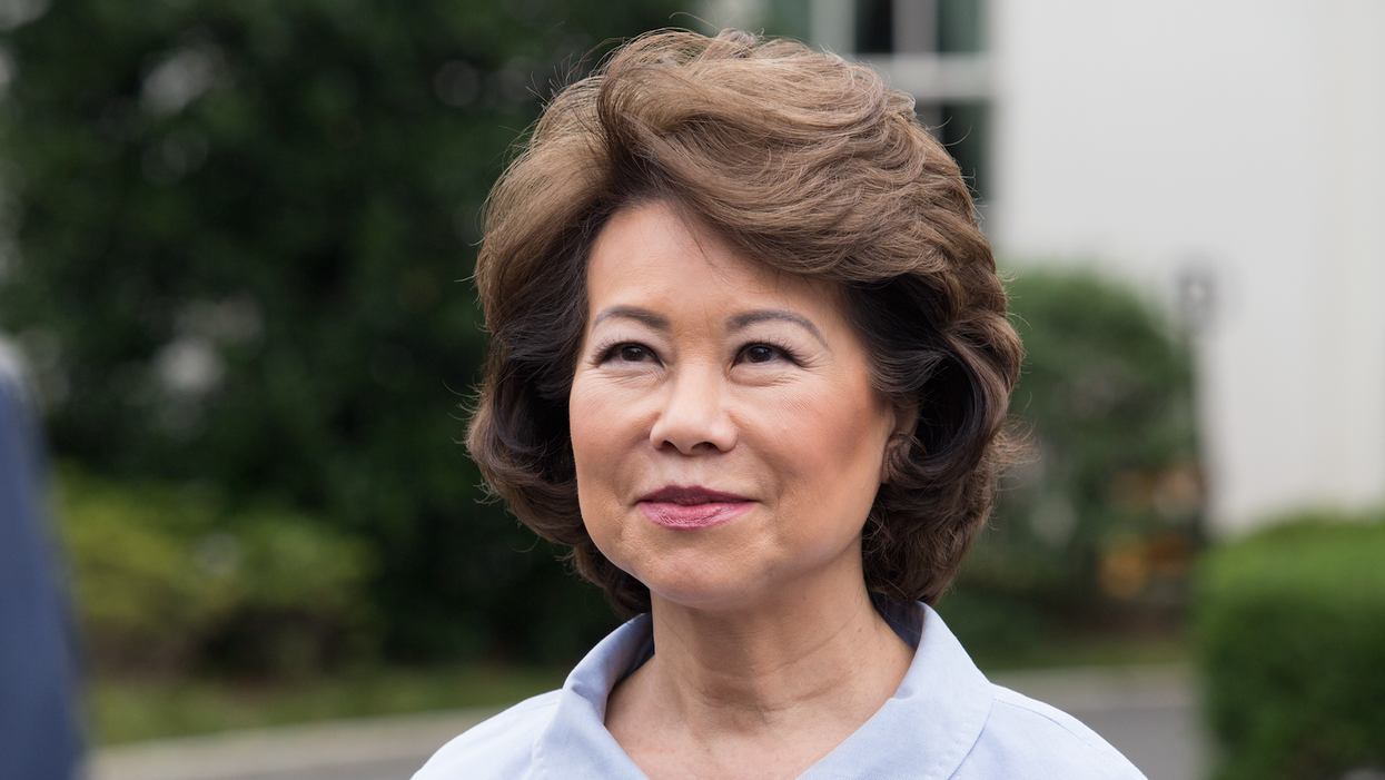 DOJ got an official referral to open a 'criminal investigation' into ex-Sec. Elaine Chao: report