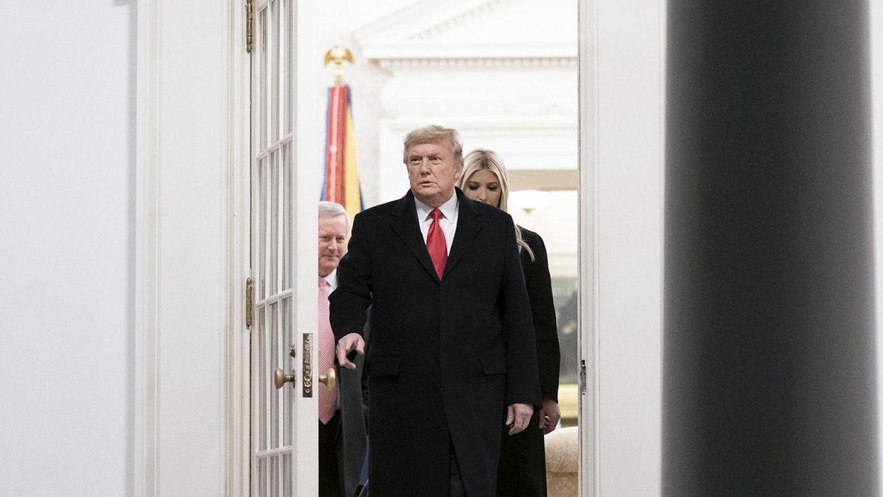 The end of a pyromaniac's presidency