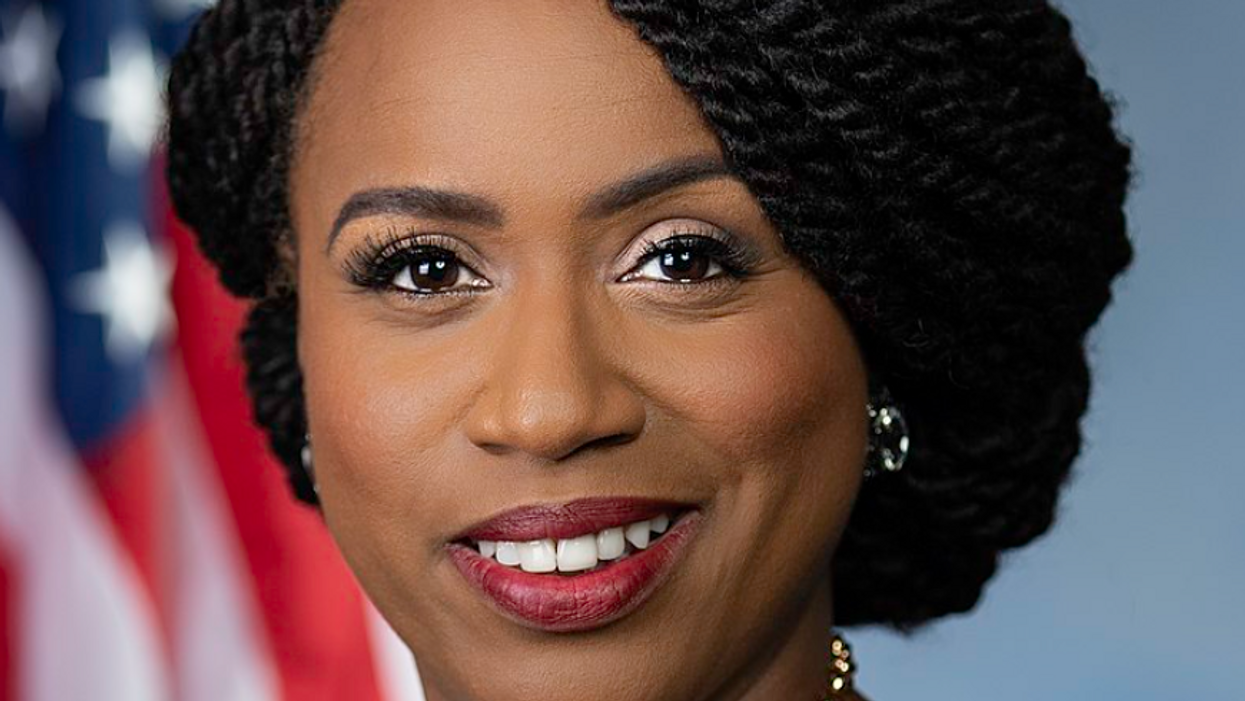 Democrat Ayanna Pressley's office reveals a disturbing detail discovered during the Capitol siege