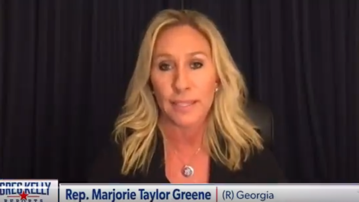 Viral video shows Marjorie Taylor Greene on January 5 saying 'get ready to fight for America tomorrow'