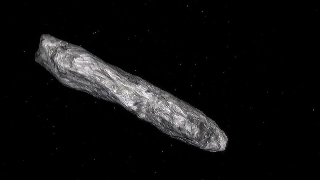 Physicist Avi Loeb thinks there's a 'serious possibility' that 'Oumuamua was an alien spacecraft