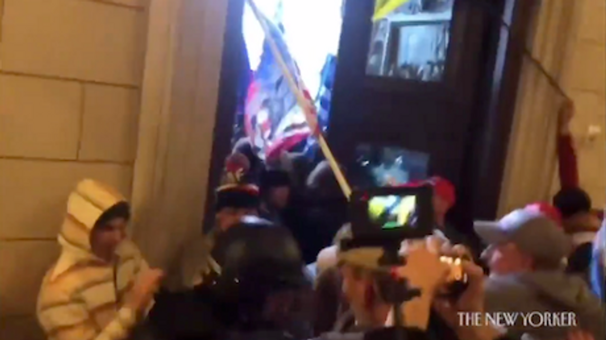 Watch: Shocking video of Capitol insurrection shows rioter saying Ted Cruz 'would want us to do this'