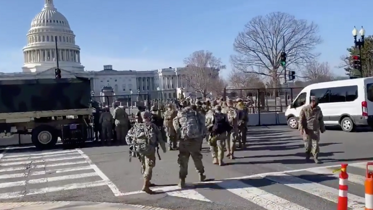 Feds vetting 25,000 National Guard troops ahead of Biden inauguration for fear of possible 'insider attack'