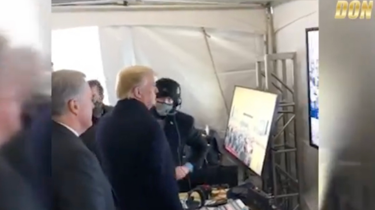 Don Jr. filmed Trump family's pre-insurrection watch party — and the president before his incitement speech