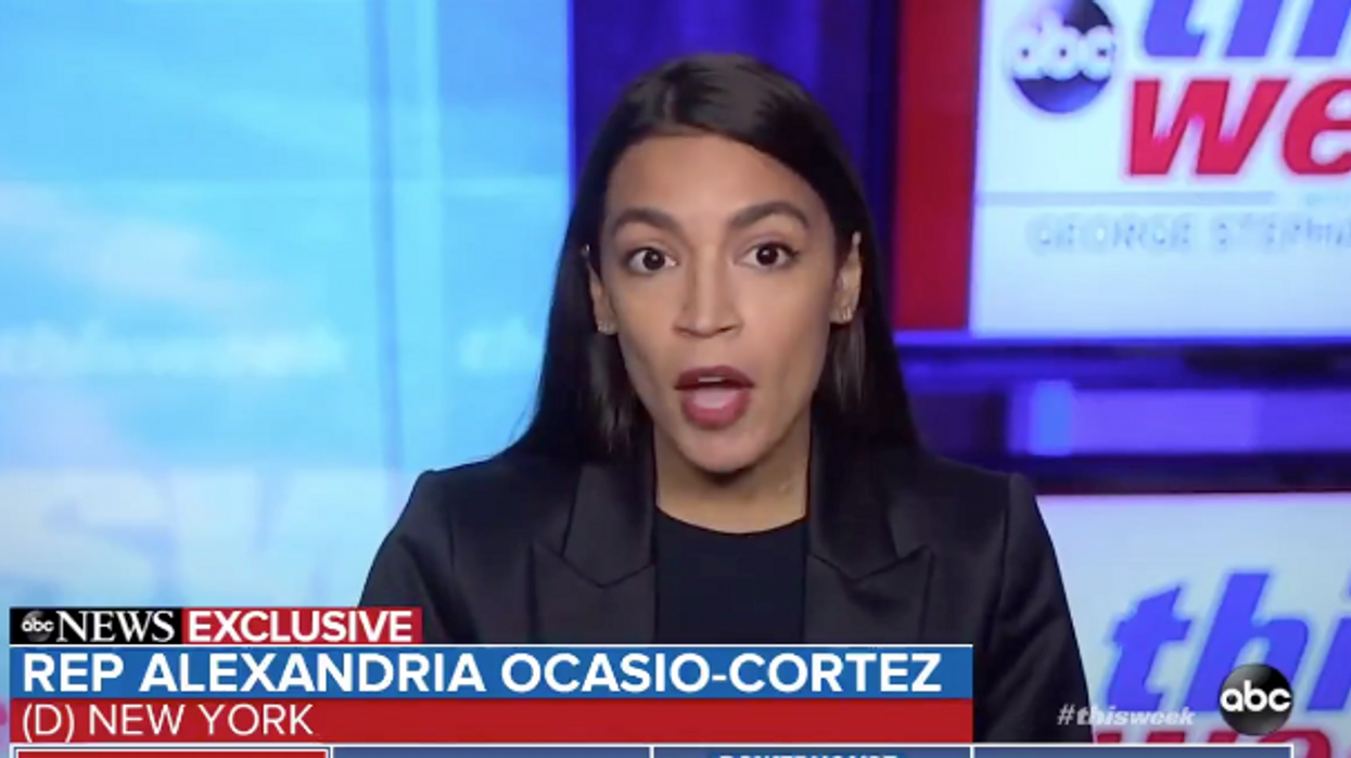 AOC cuts to the point: 'We came close to half of the House nearly dying on Wednesday'