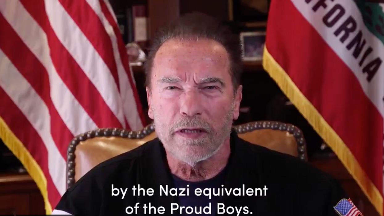 'Trump is a failed leader': Schwarzenegger slams fellow Republicans who 'enabled' president's 'lies and treachery'