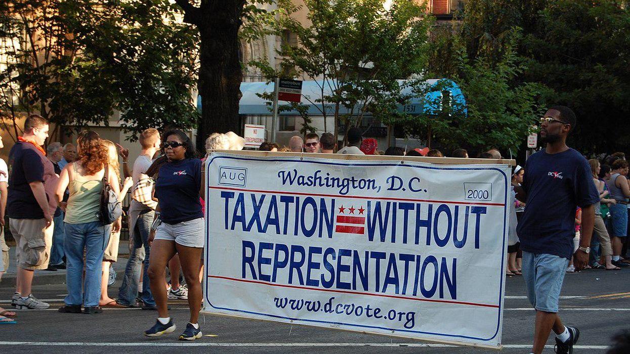 Senate bill would make Washington DC the 51st US state