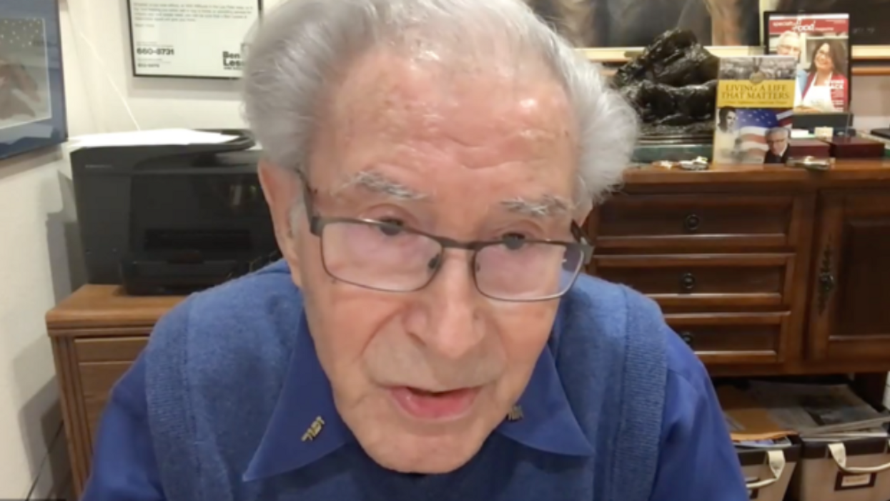 'It all started with hate': Holocaust survivor says Capitol siege 'gave me taste of the past'