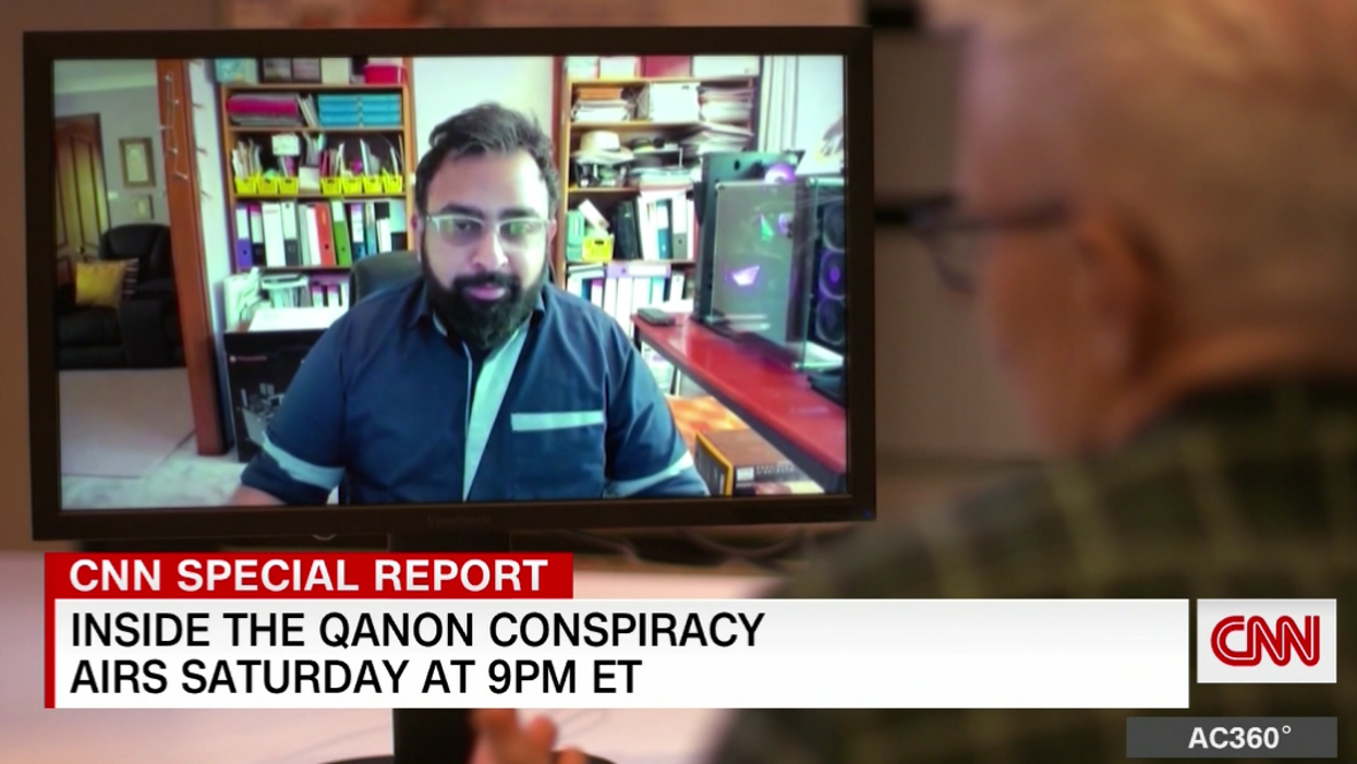 CNN's Anderson Cooper chats with QAnon follower who believed the anchor 'ate babies'