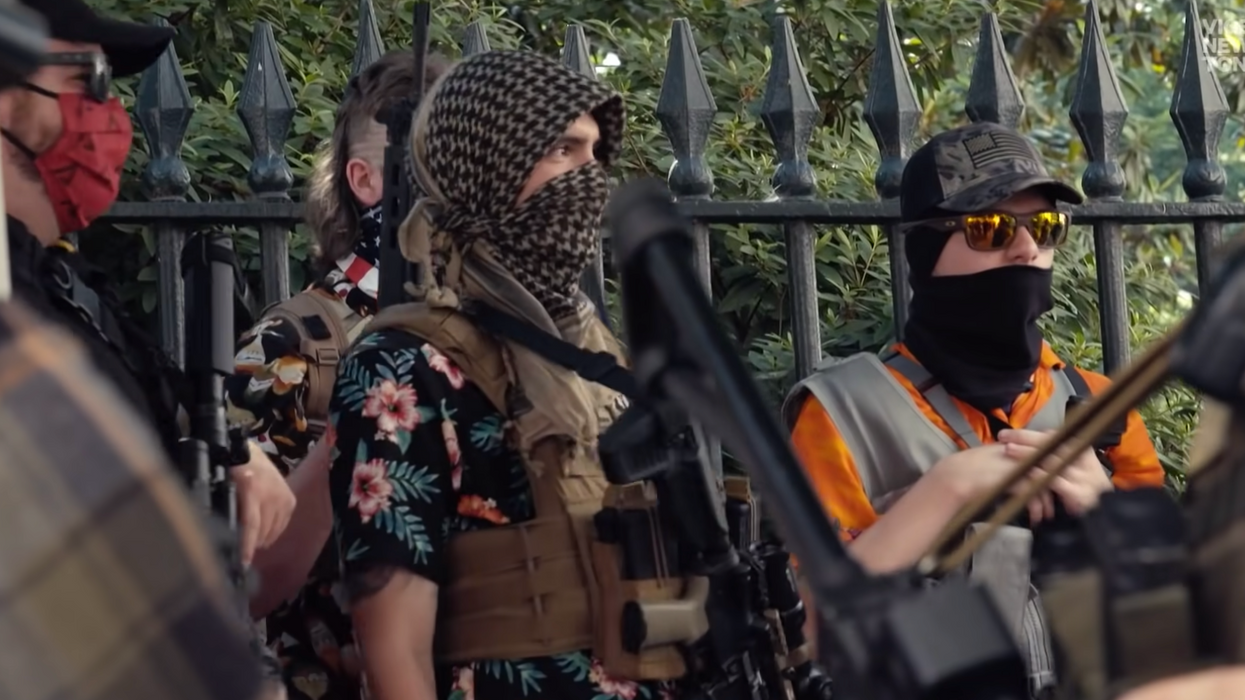 The Boogaloo Bois have guns and military training. Now they want to overthrow the government