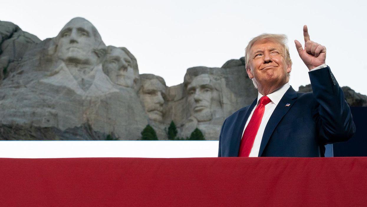 Trump's 'American Heroes' list is truly unhinged