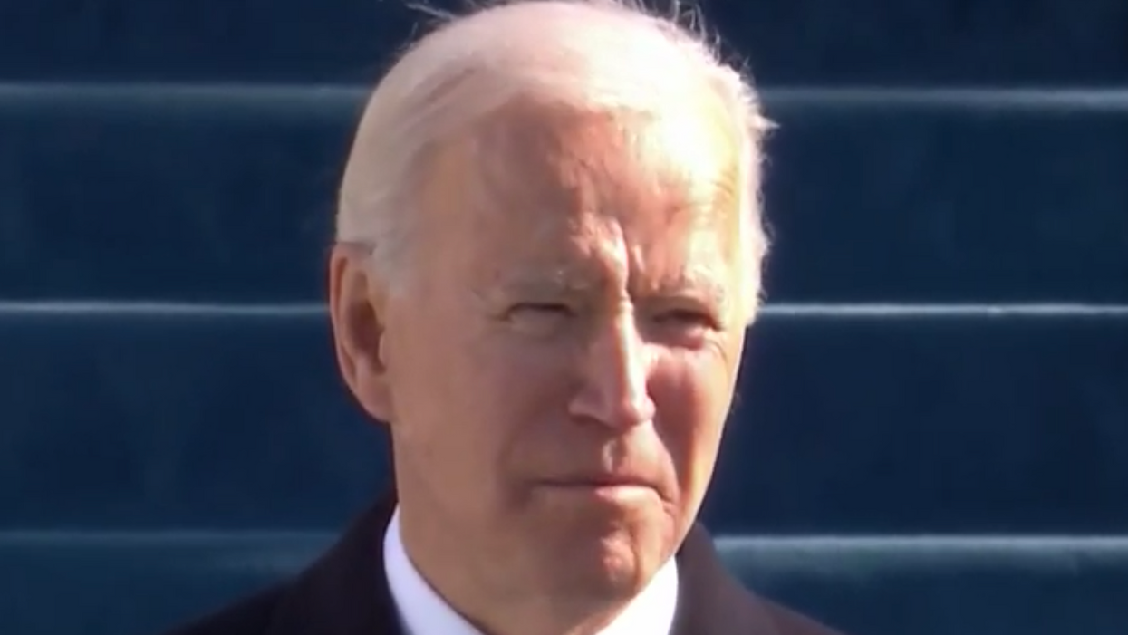 How Biden's inauguration sent a strong signal about the kind of president he could be