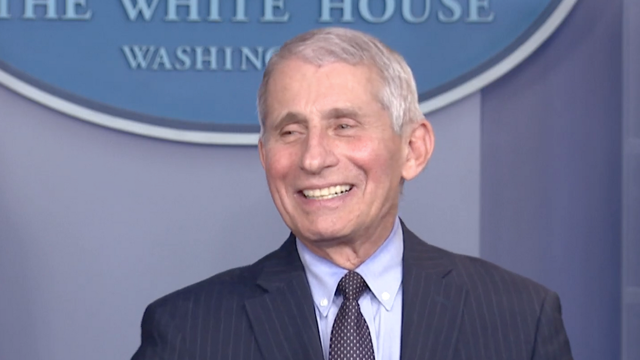 Fauci admits he 'got in trouble' under Trump — and now has a 'liberating feeling'