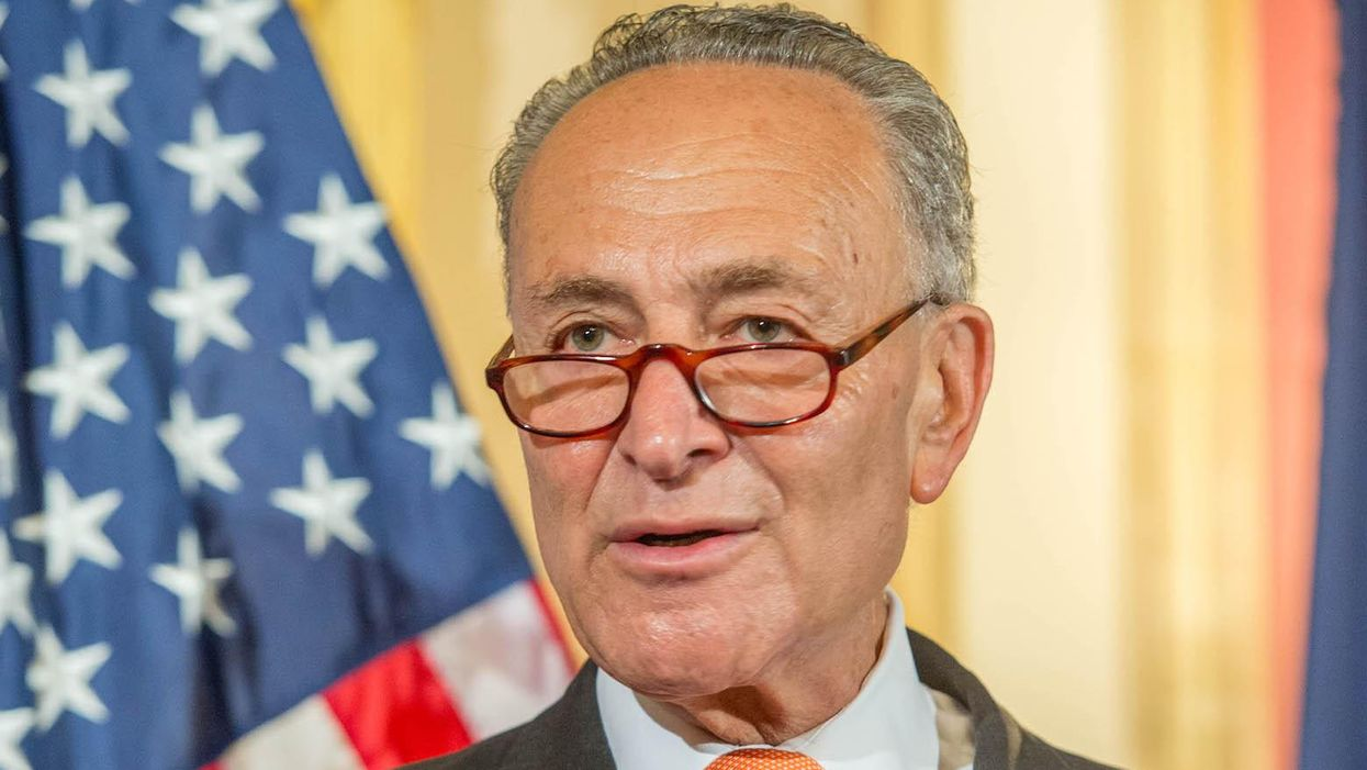 Schumer and McConnell told to 'remove seditious senators' from Trump trial