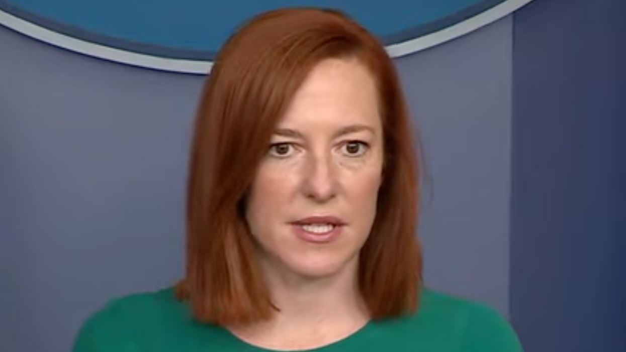 White House press secretary shuts down Fox News' bogus attack on Biden