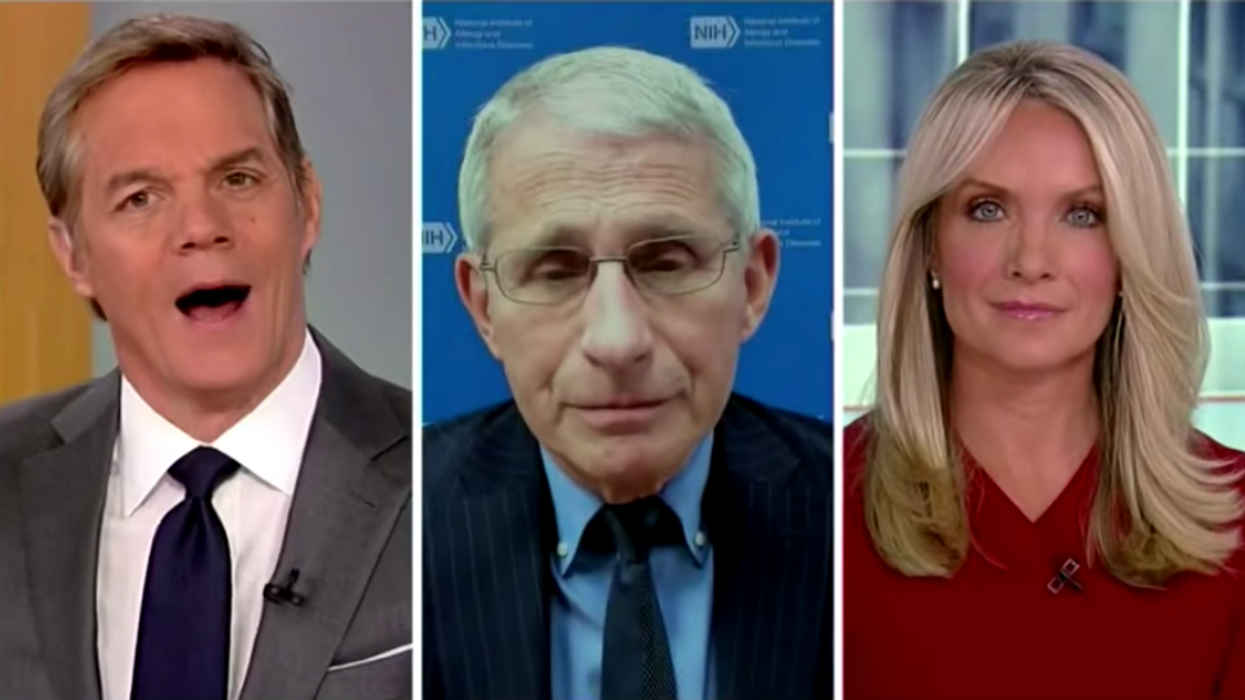 Watch: Dr. Fauci takes down Fox News host who accuses him of 'aggressiveness' toward Trump