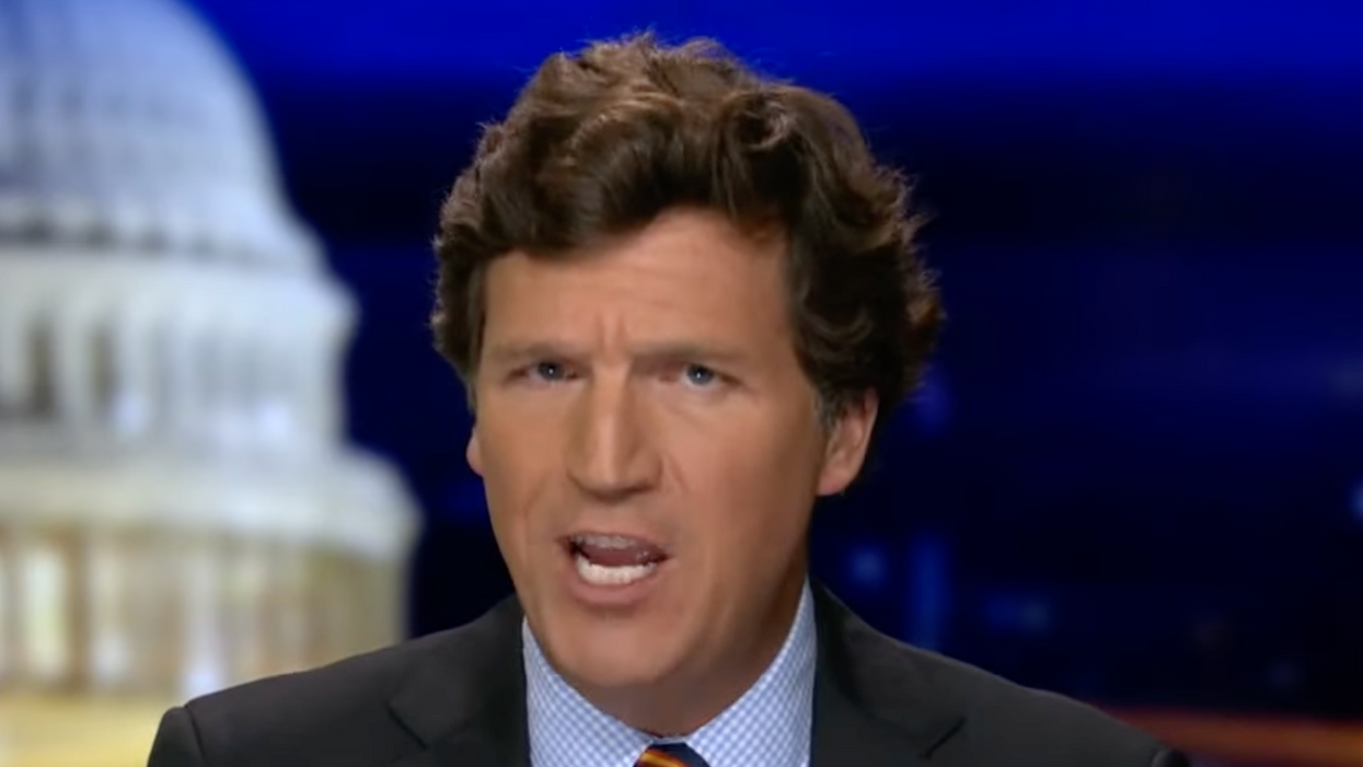 Tucker Carlson completely loses it over the idea that the FBI should target white nationalist terrorists