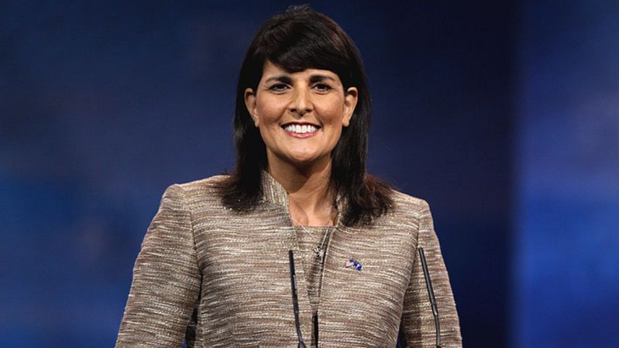 Nikki Haley finally pushes back against Trump as GOP scrapes to salvage what is left of the party