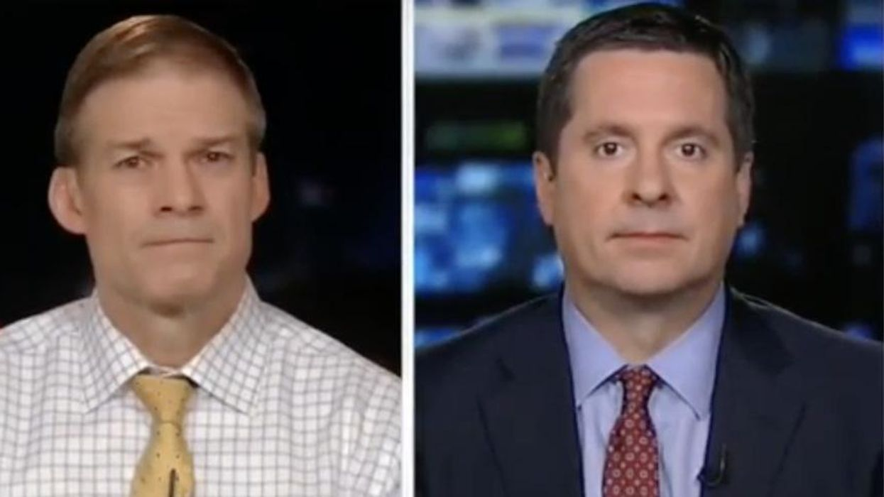 'Completely unhinged': Devin Nunes and Jim Jordan try to blame Nancy Pelosi for the Capitol attack