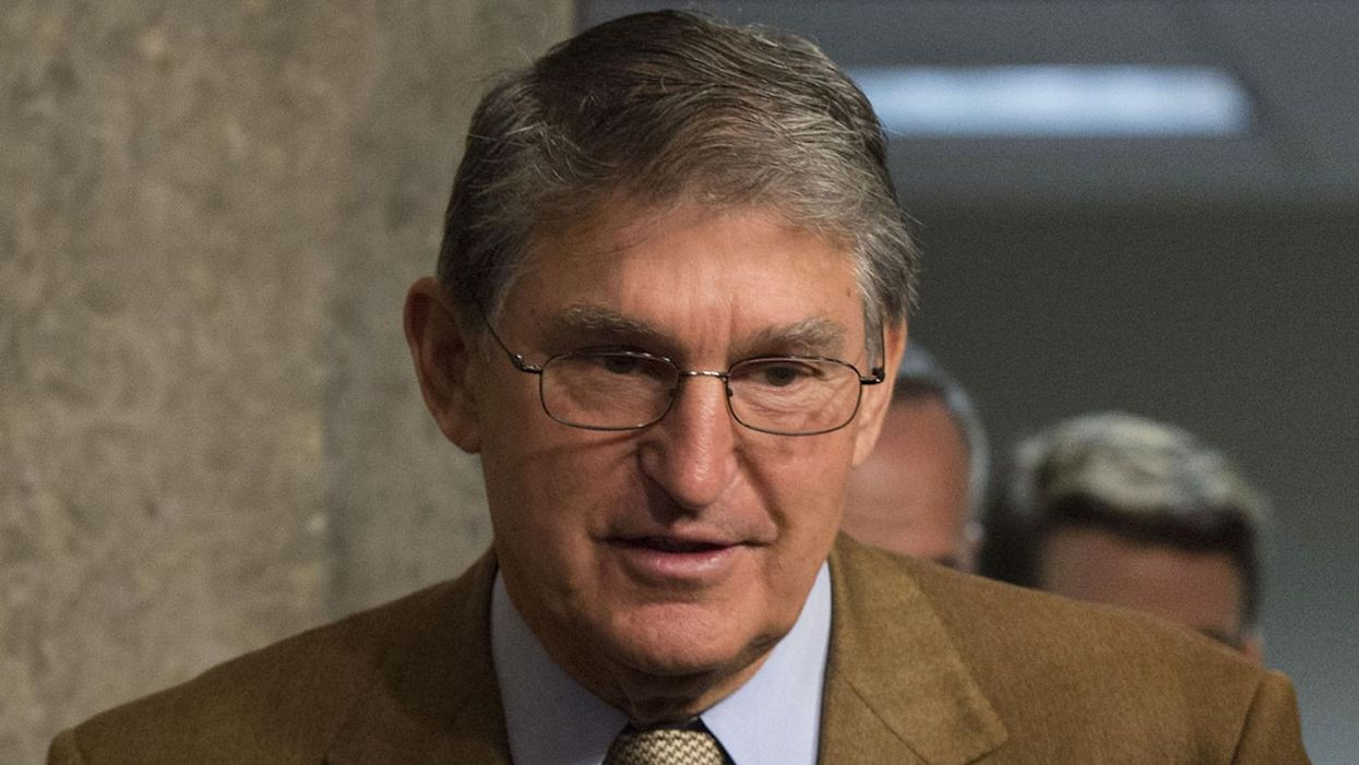 New report reveals what Joe Manchin told corporate lobbyists behind closed doors