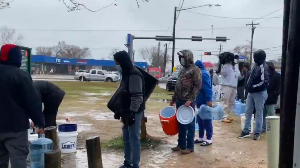 'Blood is on Abbott's hands': Anger at GOP leaders surges as food, water shortages compound Texas power crisis