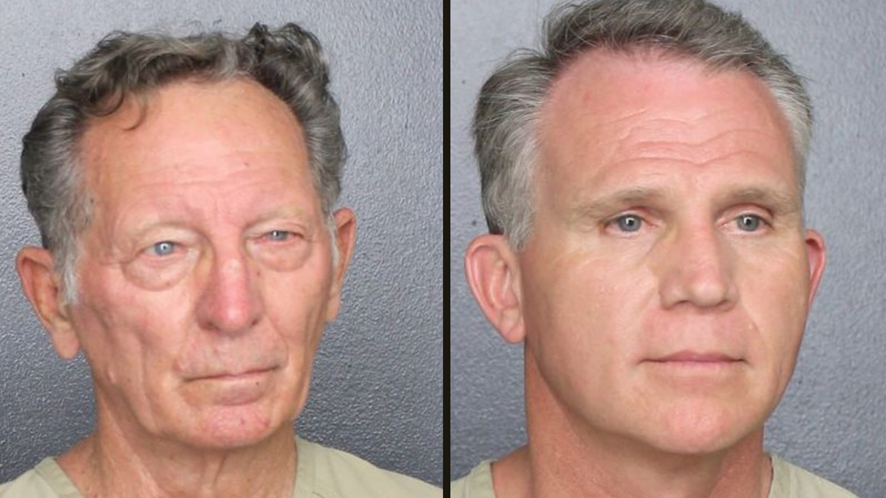 Two men arrested after posing as US Marshalls to avoid wearing masks