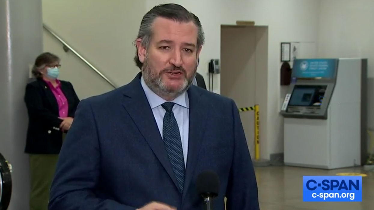Listen: Ted Cruz urged Texans to stay 'just stay home' this weekend. Then he flew to Mexico