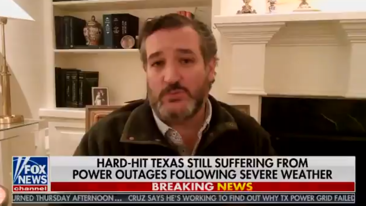 Twitter users rip Sean Hannity and Ted Cruz as his Cancun story falls apart on live TV