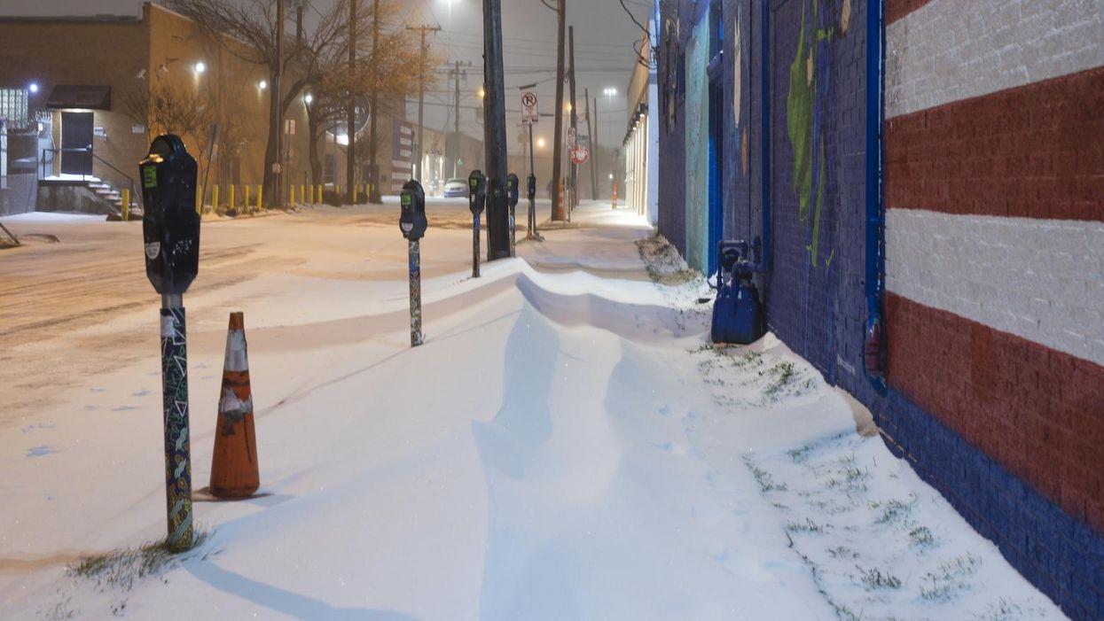 Dallas texas snow outage crisis