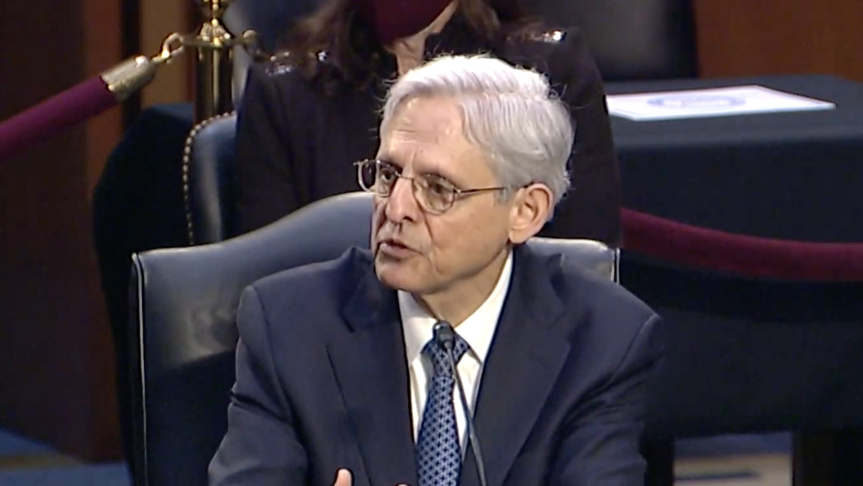 Watch: Merrick Garland becomes emotional and chokes up when talking about his family's history