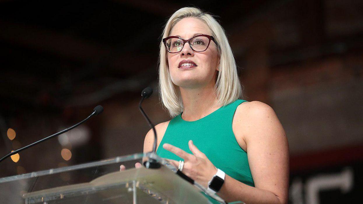 Sen. Kyrsten Sinema cast a showboating vote against $15 minimum wage. Then she added insult to injury