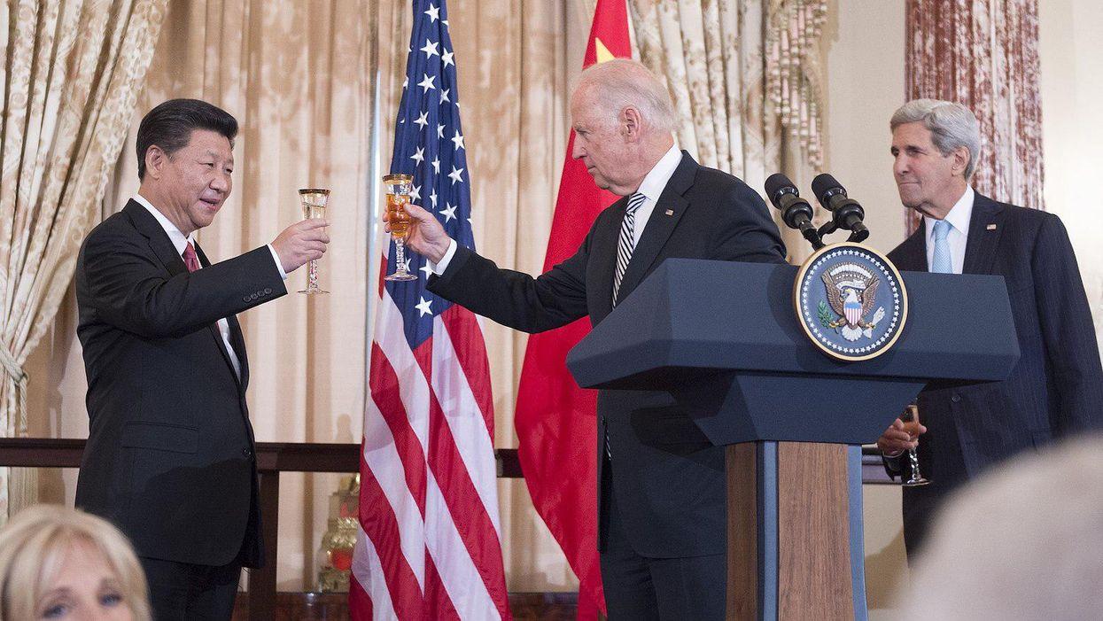 Joe Biden // China President Xi Jinping