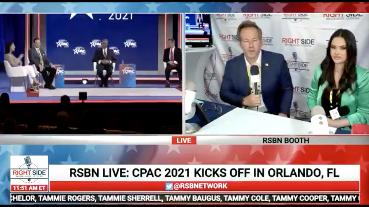 Right-wing outlet cuts off CPAC broadcast to disown conspiracy theories about the 2020 election