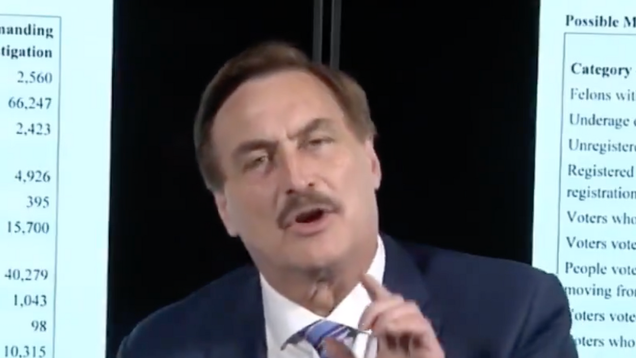 My Pillow guy Mike Lindell's new 'free speech' website turns out to be a hilarious disaster