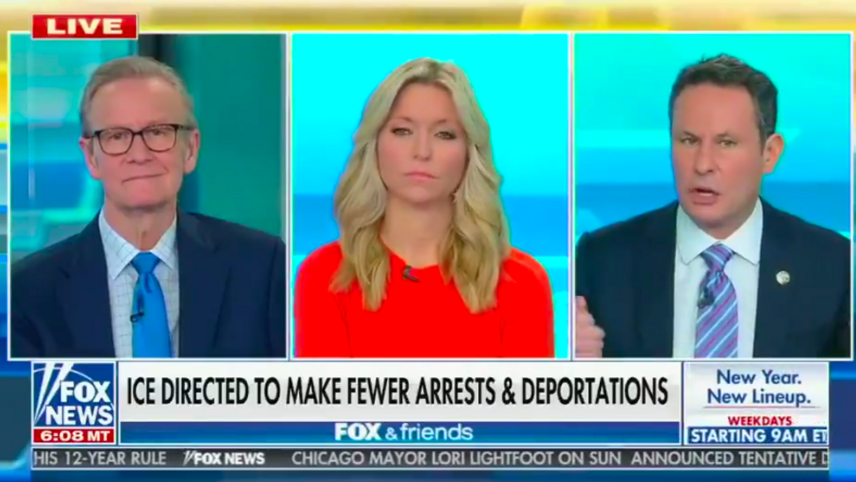 'Fox & Friends' furious ICE isn't deporting as many 'hoodlums who are nesting somewhere'