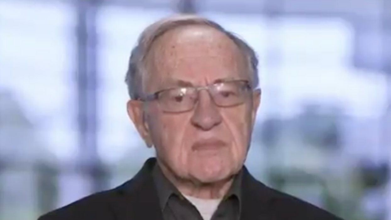 'I have no idea what he's doing': Alan Dershowitz is baffled by a Trump lawyer's argument