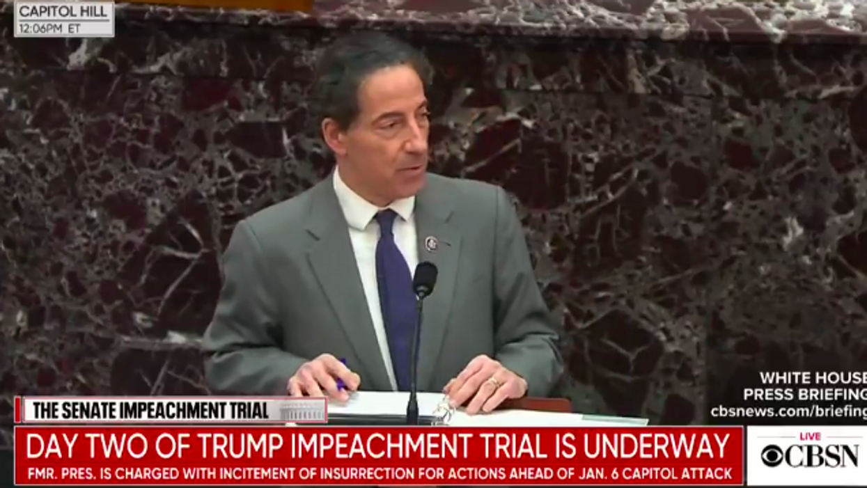 Watch: Lead impeachment manager lays out how 'inciter-in-chief' Trump 'praised and encouraged and cultivated violence'