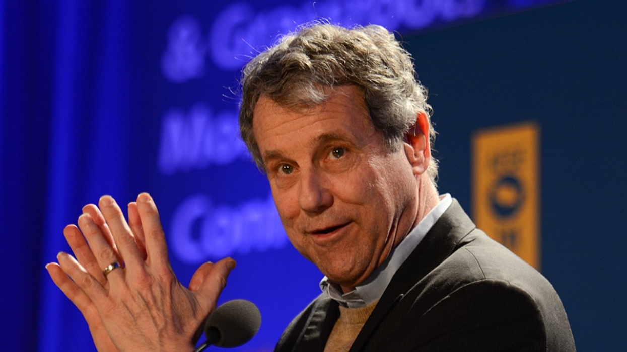 'Show some spine': Ohio Sen. Sherrod Brown slams GOP colleagues for 'visceral fear' of Trump's base