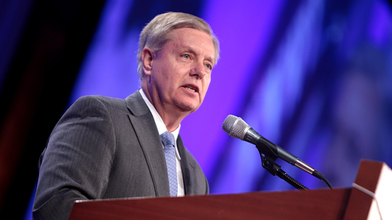 Graham said the 'not guilty vote is growing' after Trump impeachment case — and Twitter let him have it