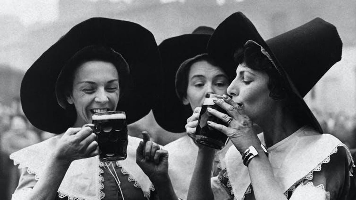 Women used to dominate the beer industry – until the witch accusations started pouring in